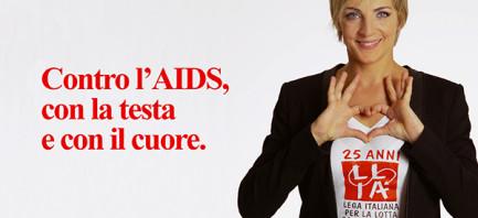 Contro l'Aids, con la testa e con il cuore